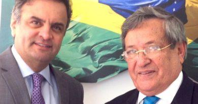 Aécio Neves e Benito Gama são alvos de operação da PF nesta quinta