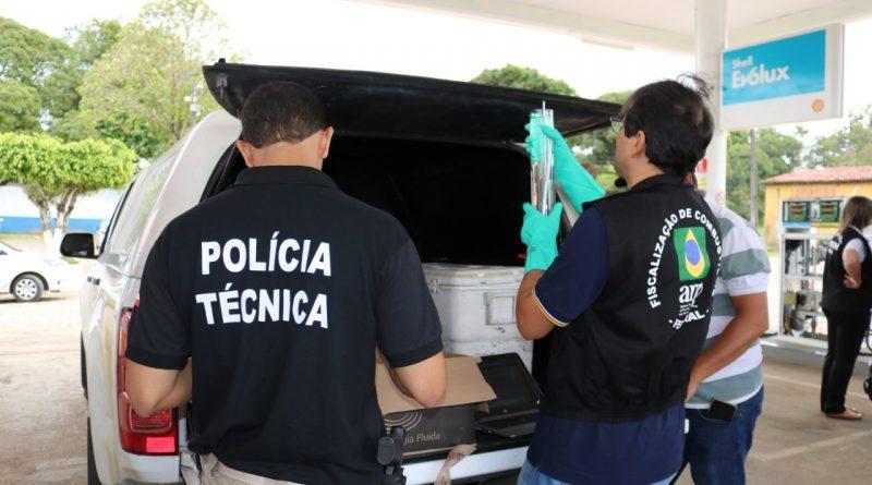 Fiscalização encontra bombas de combustível irregulares no sul da Bahia