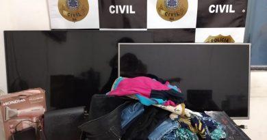 Polícia de Eunápolis recupera produtos roubados em residências e prende autor