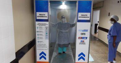 Hospital de Eunápolis ganha túnel de desinfecção, veja o que mais o governo Rui mandou para a região