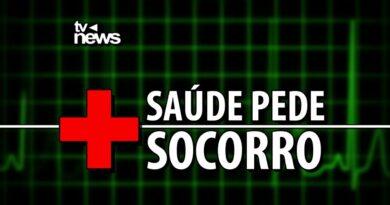 Saúde em Eunápolis só tem hoje uma ambulância caindo aos pedaços para atender 2 hospitais