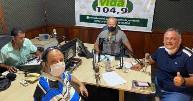 """Ouça na íntegra o novo programa """"Bora Eunápolis"""" com Neto Guerrieri na rádio 104FM"""