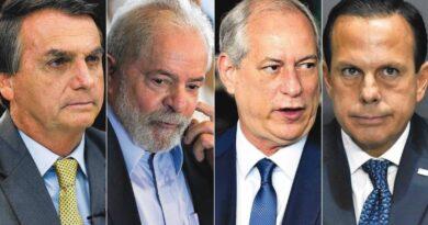 Presidenciáveis querem evitar a praga do vice em 2022