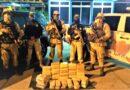 PRF aborda Fiat Toro na BR 367 com grande quantidade de cocaína a caminho de Porto Seguro